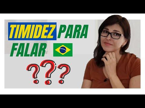 Como NÃO TER VERGONHA para falar em português?