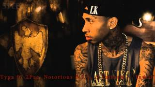 "Tyga - ""Faded"" feat. 2Pac, Notorious B.I.G, & Eminem (Remix 2013)"