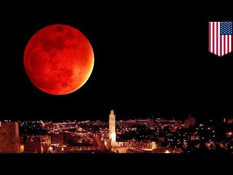歐美中秋節 罕見超級月亮月全蝕即將登場 - YouTube