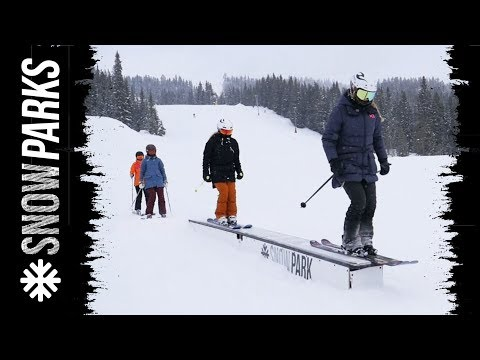 SkiStar Snow Parks - How to l Glida över boxen