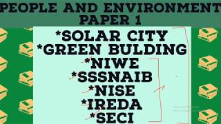 PEOPLE AND ENVIRONMENT VERY  IMPORTANT FACTS AND INFORMATION FOR PAPER 1 NTA UGC NET EXAM