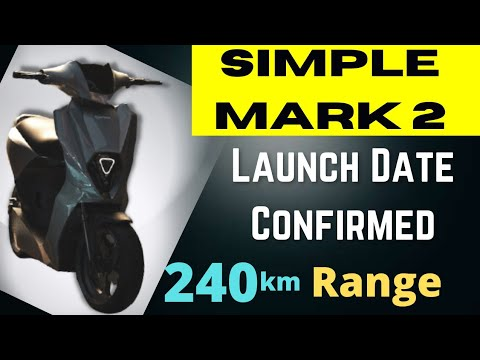 Simple Mark 2 Electric Scooter Launch Date Confirmed