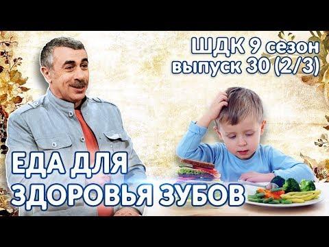 Еда для здоровья зубов - Доктор Комаровский