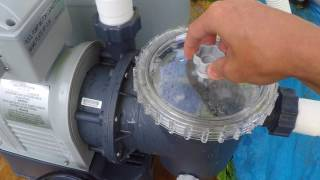 How-To use Chlorine Tablet and Recirculate Setting on Intex Sand Filter