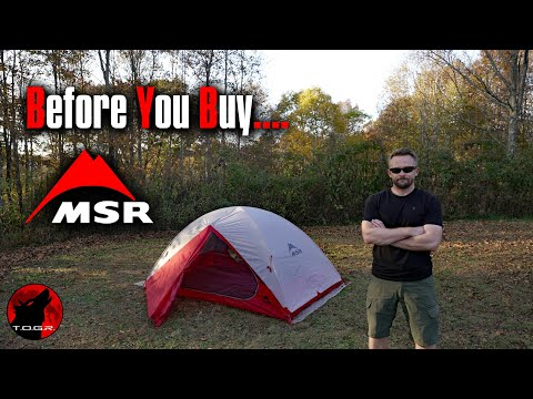 How Bad Can It Be? MSR Zoic 2P Tent - Before You Buy