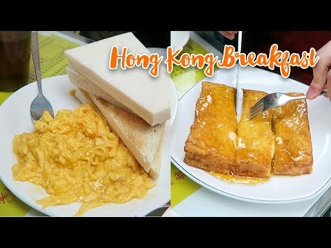 Hong Kong Breakfast ► Perfect Scrambled Eggs & Buttery French Toast