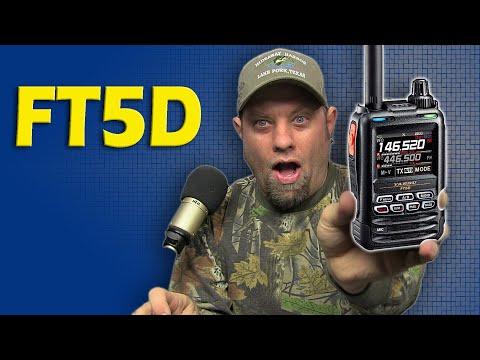 Yaesu FT5DR Ham Radio Handheld Unboxing | Yaesu System Fusion HT