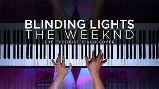 The Weeknd - Blinding Lights | The Theorist Piano Cover