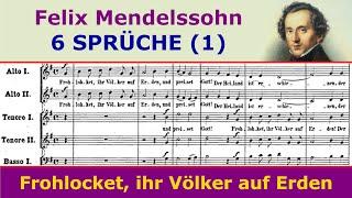 Mendelssohn - 6 Sprüche (I. Christmas)