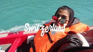 Switzerland Vlogs   خليت امي تسوي ٣ مغامرات مختلفة بين الجبال في سويسرا