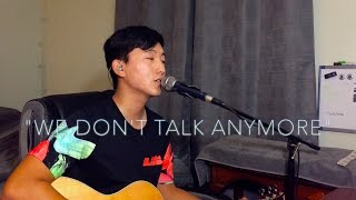 """""""We Don't Talk Anymore"""" Charlie Puth ft. Selena Gomez cover by Alex Thao"""