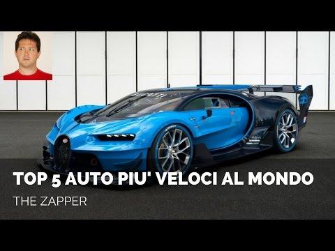 Top 5 AUTO più VELOCI al MONDO | The Zapper