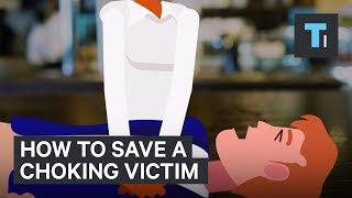 The best way to save a choking victim is no longer 'the Heimlich'