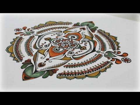 Zentangle Inspired Art #32