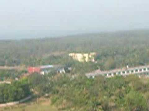 Cox's bazar city panoramic view