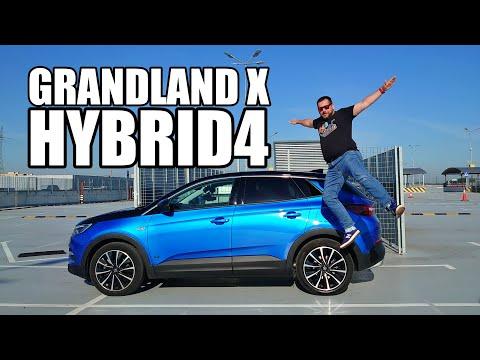 Opel Grandland X Hybrid4 - 300-konna hybryda 4x4 (PL) - test i jazda próbna