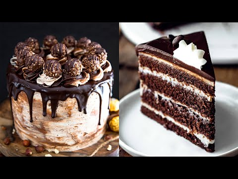 Yummy METLED Chocolate Cakes and Desserts Recipes | How To Make Chocolate Cakes