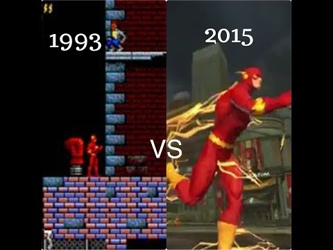 Evolution of Flash in Games (1993 – 2017)