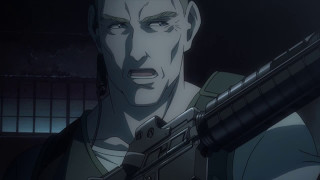 Black lagoon- u.s. special forces plan out scene