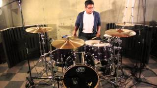 Brighter - Hillsong Young and Free - Drum Cover by Johnson George