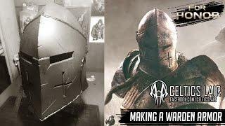 Making a Warden Armor - Part 1: Helmet