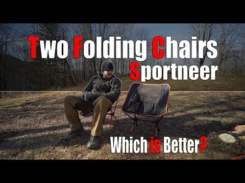 Sportneer Adjustable and Non Adjustable Foldable Chairs