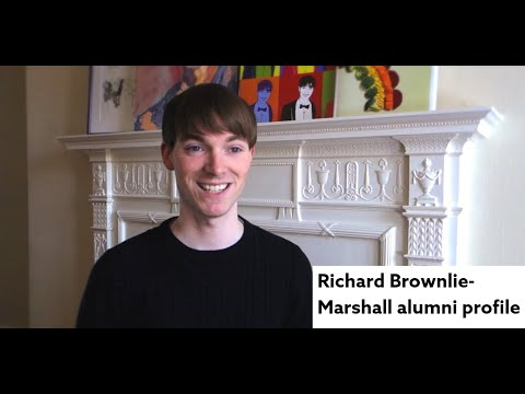 Design for Industry Course at Northumbria University. Richard Brownlie-Marshall alumni profile