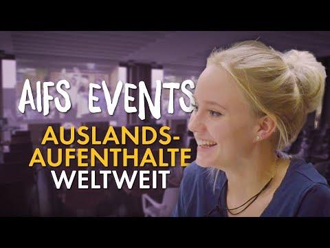 AIFS Events zu Auslandsaufenthalten weltweit
