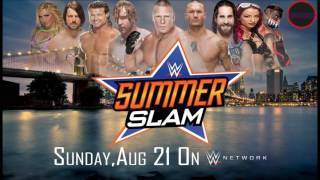 WWE Summerslam 2016: CFO$ - Back To The NYC (Official Theme)