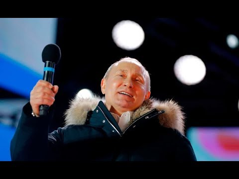 Putin 'Reelected' With 74% Of The 'Vote'