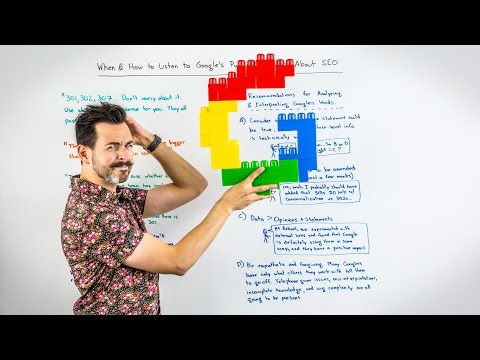 When and How to Listen to Google's Public Statements About SEO - Whiteboard Friday