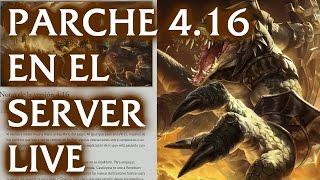Notas de parche 4.16 en el servidor live, League of Legends