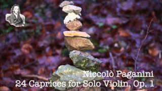 24 Caprihos de solo violín, Op. 1 de Niccolò Paganini