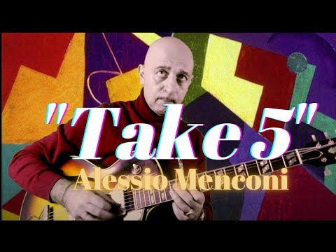 Take 5 Five| Alessio Menconi | Jazz Guitar Lessons