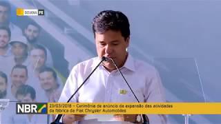 Presidente Michel Temer visita a fábrica da Fiat Chrysler Automobiles em Pernambuco