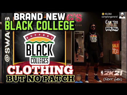 NEW  BLACK COLLEGE CLOTHES IS MORE IMPORTANT TO NBA 2K DEVELOPERS THEN A NEW PATCH ON NBA 2K21
