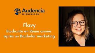 Flavy, en 2ème année après un Bachelor marketing