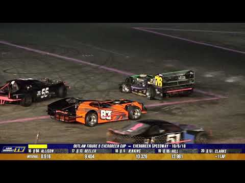 Outlaw Figure 8 Racing: Evergreen Cup 2018 - Evergreen Speedway