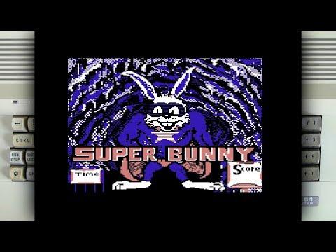 Super Bunny on the Commodore 64