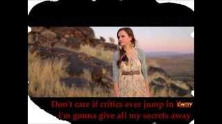 Tiffany Alvord Cover of One Republic  Secrets Lyrics)