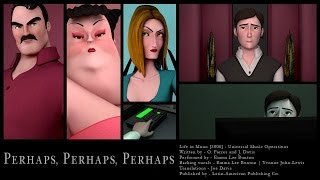 Perhaps Perhaps Perhaps - Animation Music Video | Emma Bunton