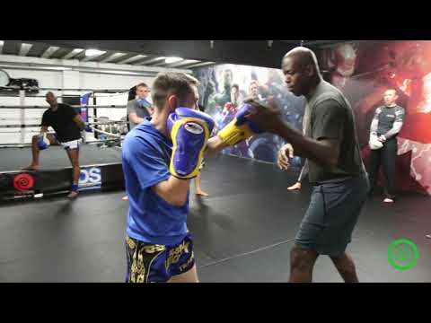 Boxing Drills for Muay Thai Fighters with Barry Robinson