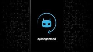 The new CyanogenMod Bootanimation