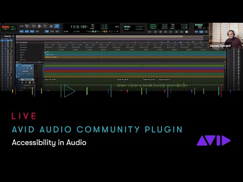 Avid Audio Community Plugin Webinar — Accessibility in Audio