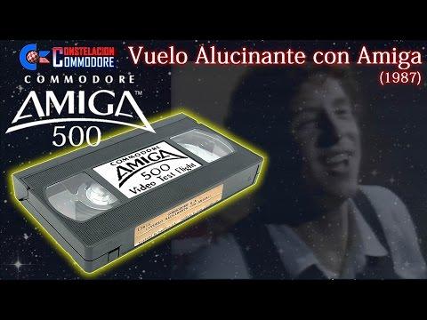 Vuelo Alucinante con Amiga (1987) - Video Promoción Amiga 500