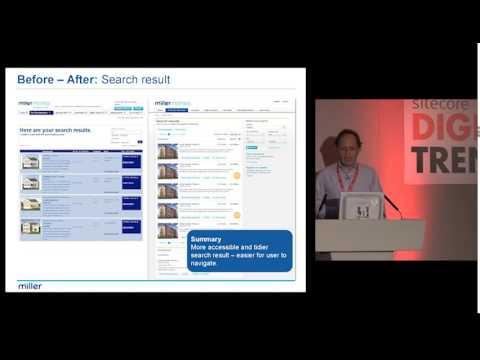 Miller Group  'Conversational' Website Presence