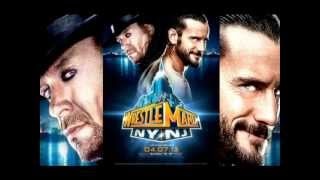 "CM Punk vs. Undertaker Official Wrestlemania 29 Theme Song - ""Bones"""
