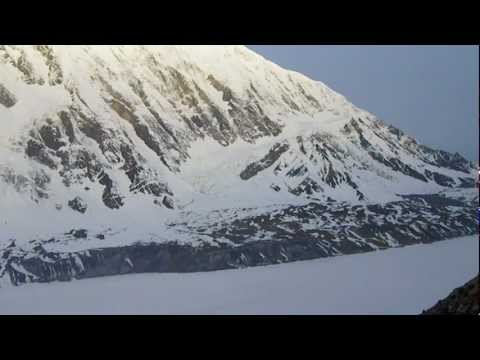 "Recital at Tilicho Lake (4910m altitude) of ""Tilicho Lake"" by David Whyte"