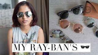 My Ray-Ban Sunglasses Collection // Magali Vaz