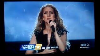 John Travolta-Bee Gees-Céline Dion-Access Hollywood-13 Avril 2017